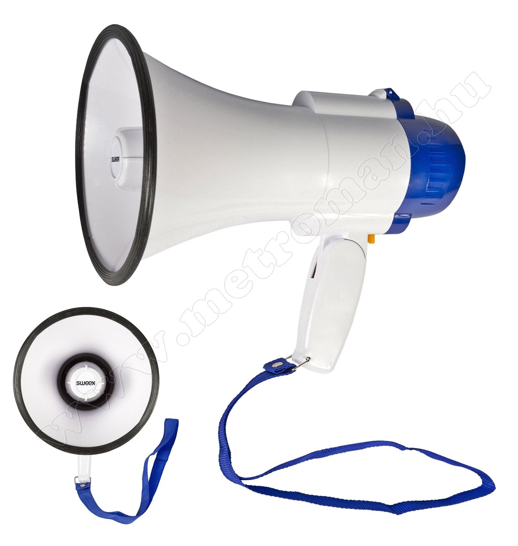 Kézi hangosbeszélő, megaphone SWMEGA10 10W