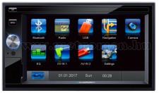 2 DIN, USB/SD MP3 multimédia autórádió, GPS navigációval Blaupunkt Santa Cruz 370