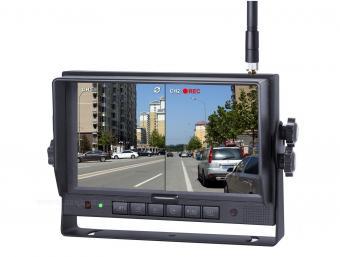 Sharp ipari kivitelű vezeték nélküli 7 colos TFT monitor HDW700127SC