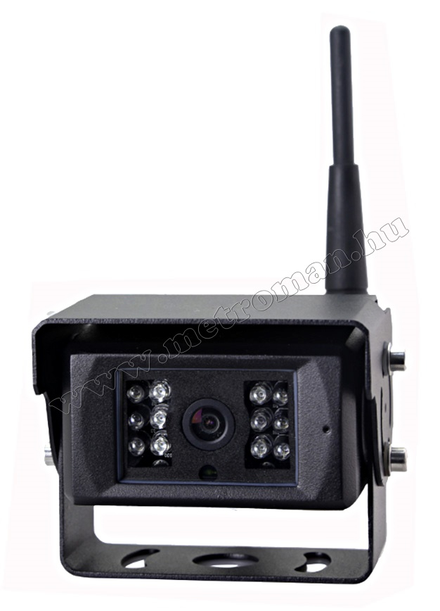 Ipari kivitelű vezeték nélküli Tolatókamera Sharp Vision DW132671CAI