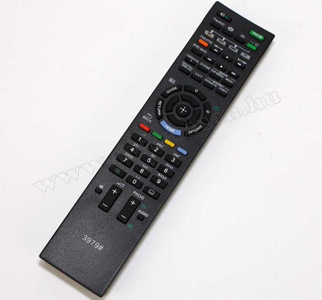Utángyártott Univerzális Sony TV távirányító Sony LCD LED TV-hez  M3979