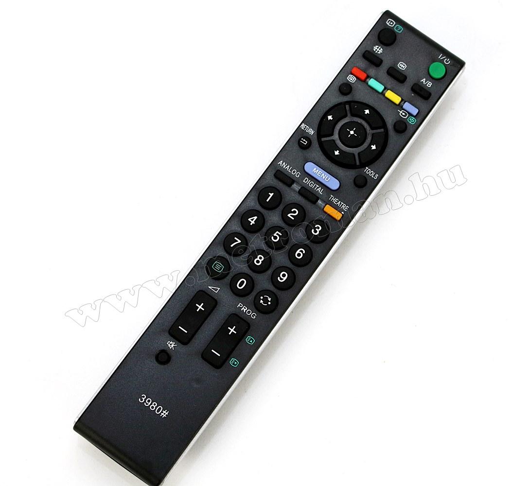 Utángyártott Univerzális Sony TV távirányító Sony LCD LED TV-hez M3980