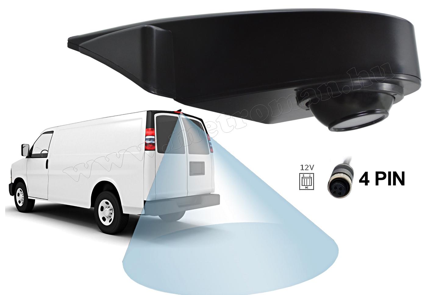 Haszongépjármű, Furgon, kisbusz tolatókamera MM-2081
