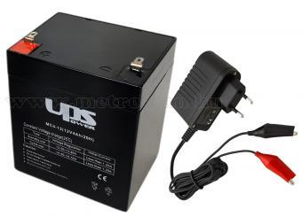 Szünetmentes tápegység csomag beléptetőkhöz és elektromos zárakhoz MC4-M4876