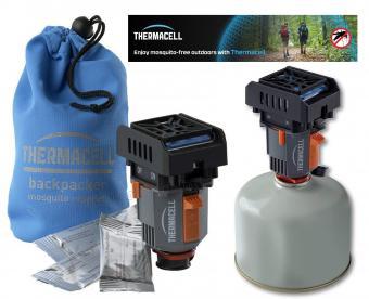 ThermaCell szúnyogriasztó MR-BP Backpacker világjáró,  kemping gázpalackra