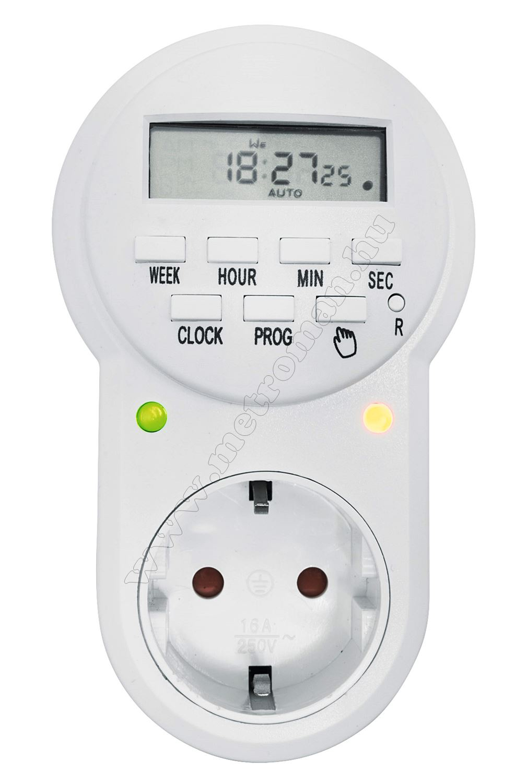 Digitális kapcsolóóra TD022