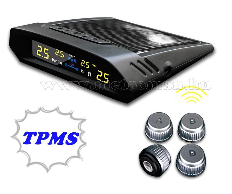 Vezeték nélküli TPMS keréknyomás ellenőrző szett, Spy TPMS-X7