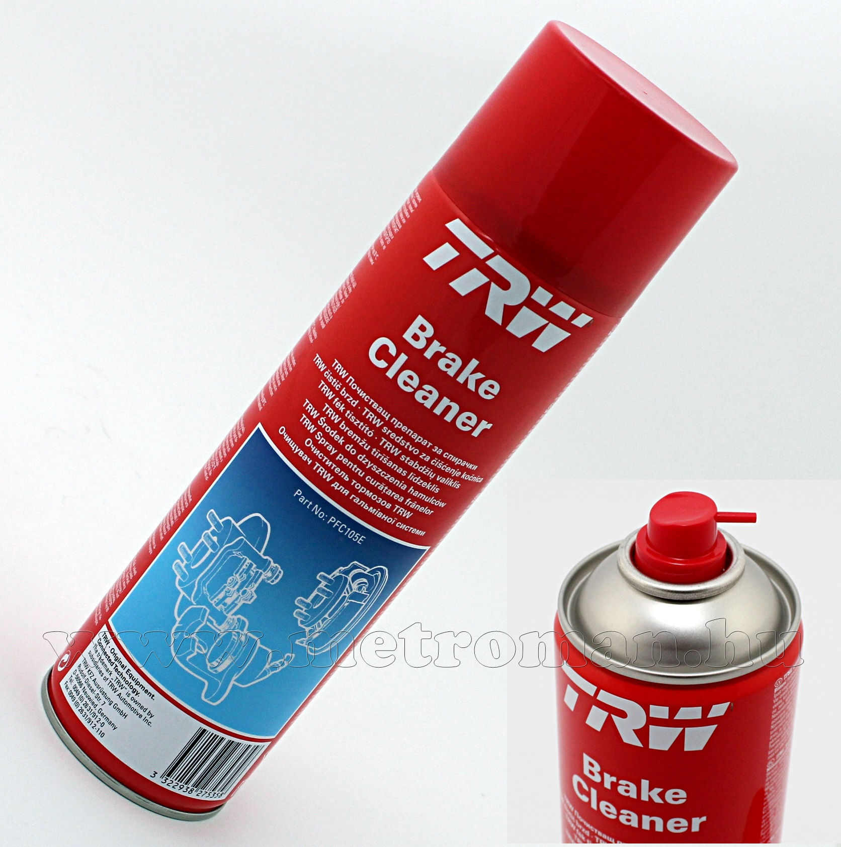 Féktisztító Spray TWC PFC105E
