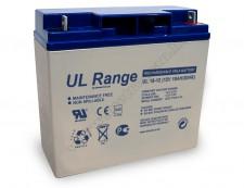 Zselés akkumulátor, Ultracell 12 V - 18  Ah