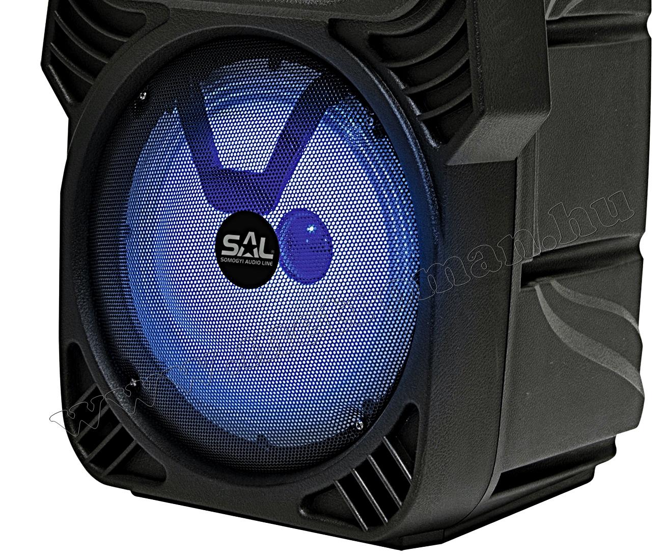 Hordozható karaoke szett USB MP3 Bluetooth zenelejátszóval PAR 20BT-M61