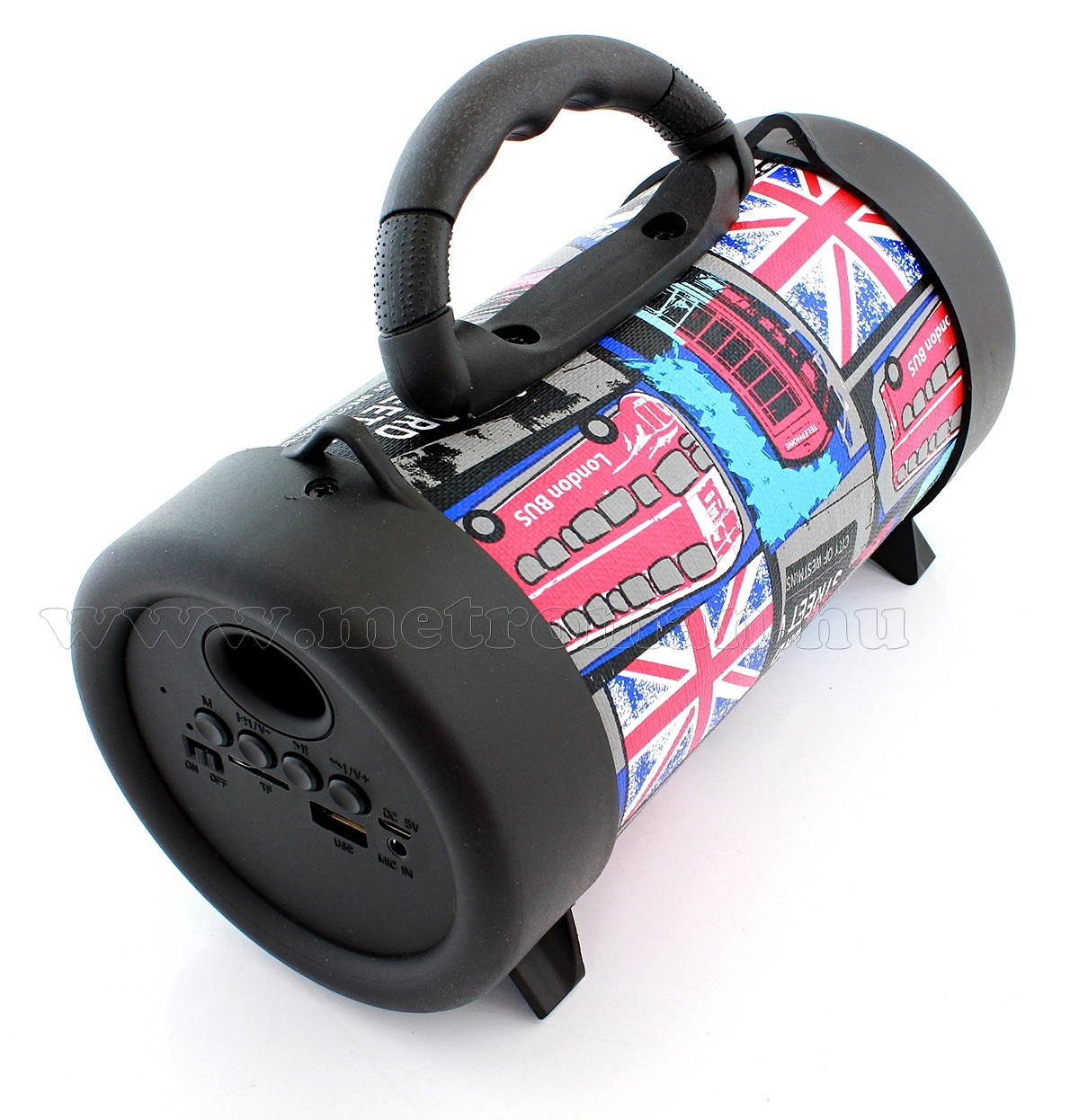 USB/SD MP3 Bluetooth hangszóró és zenelejátszó mikrofonnal M58
