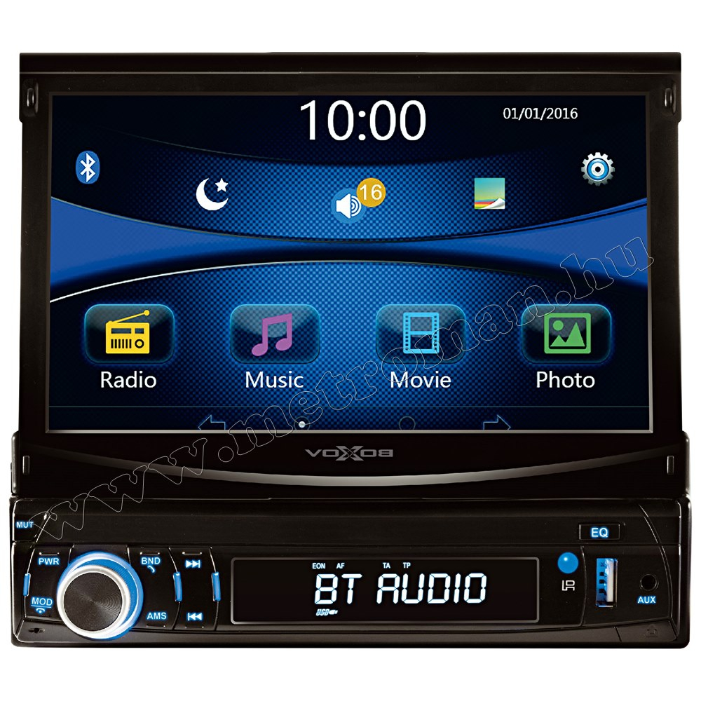 USB/SD MP3 MP4 MP5 Bluetooth Multimédiás autórádió LCD monitorral VB X700 BT