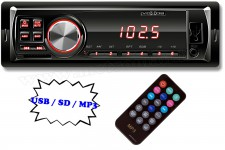 USB / SD MP3 autórádió, VoxBox VB 1000/RD