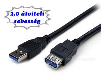 USB 3.0 hosszabbító kábel 1.8m MKP7USB3