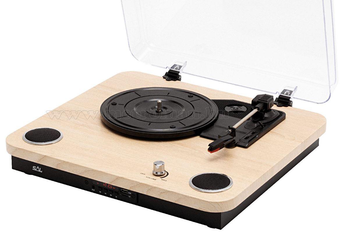 Bluetooth lemezjátszó és Lemez digitalizáló RRT 12 BT
