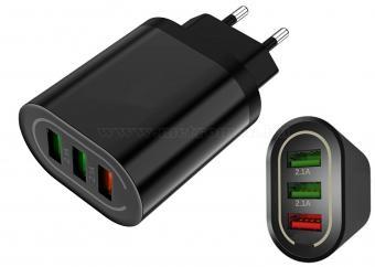 USB töltő hálózati adapter MMP37D