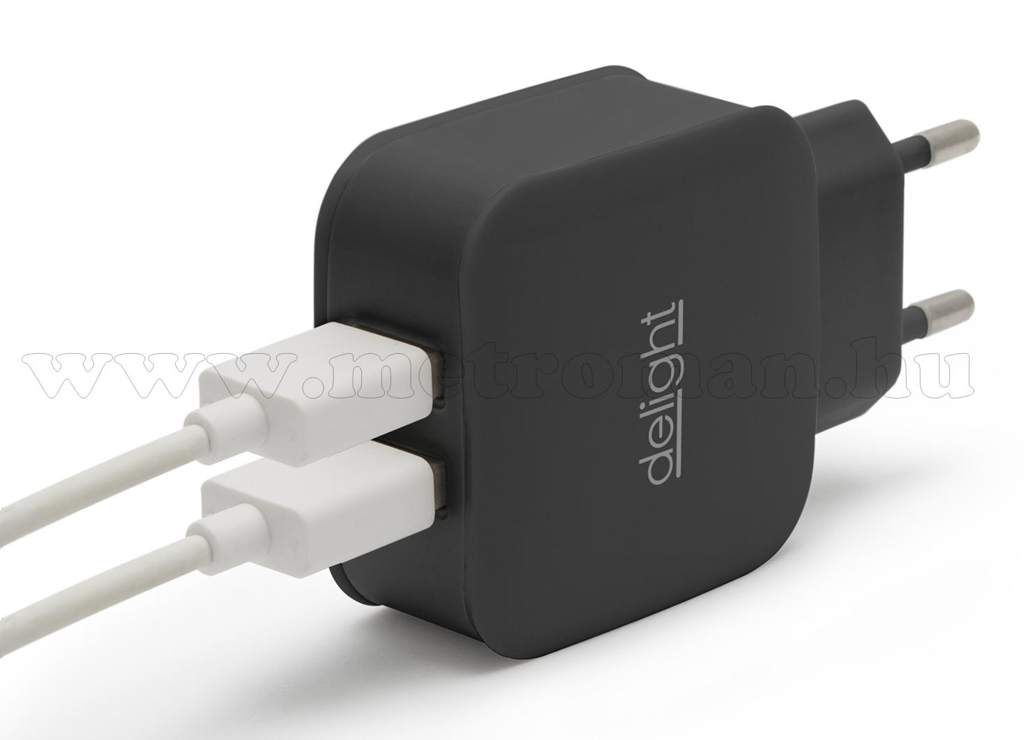 USB töltő, hálózati adapter USB45-2BK