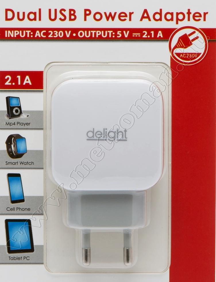 USB  töltő, hálózati adapter USB45-2WH