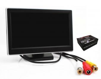 """Univerzális 5""""-os TFT LCD monitor tolatókamerához Mlogic MM-0310"""