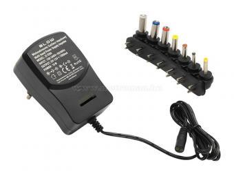 Univerzális hálózati adapter, tápegység 3-12V 1,2 Amper ZI1200