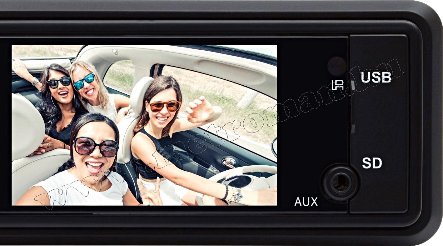 USB/SD MP3 Bluetooth autórádió LCD monitorral és Tolatókamerával VB X100 BT CAPS0229