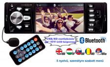 USB/SD MP3 MP4 Buletooth Multimédiás autórádió LCD monitorral VB X200