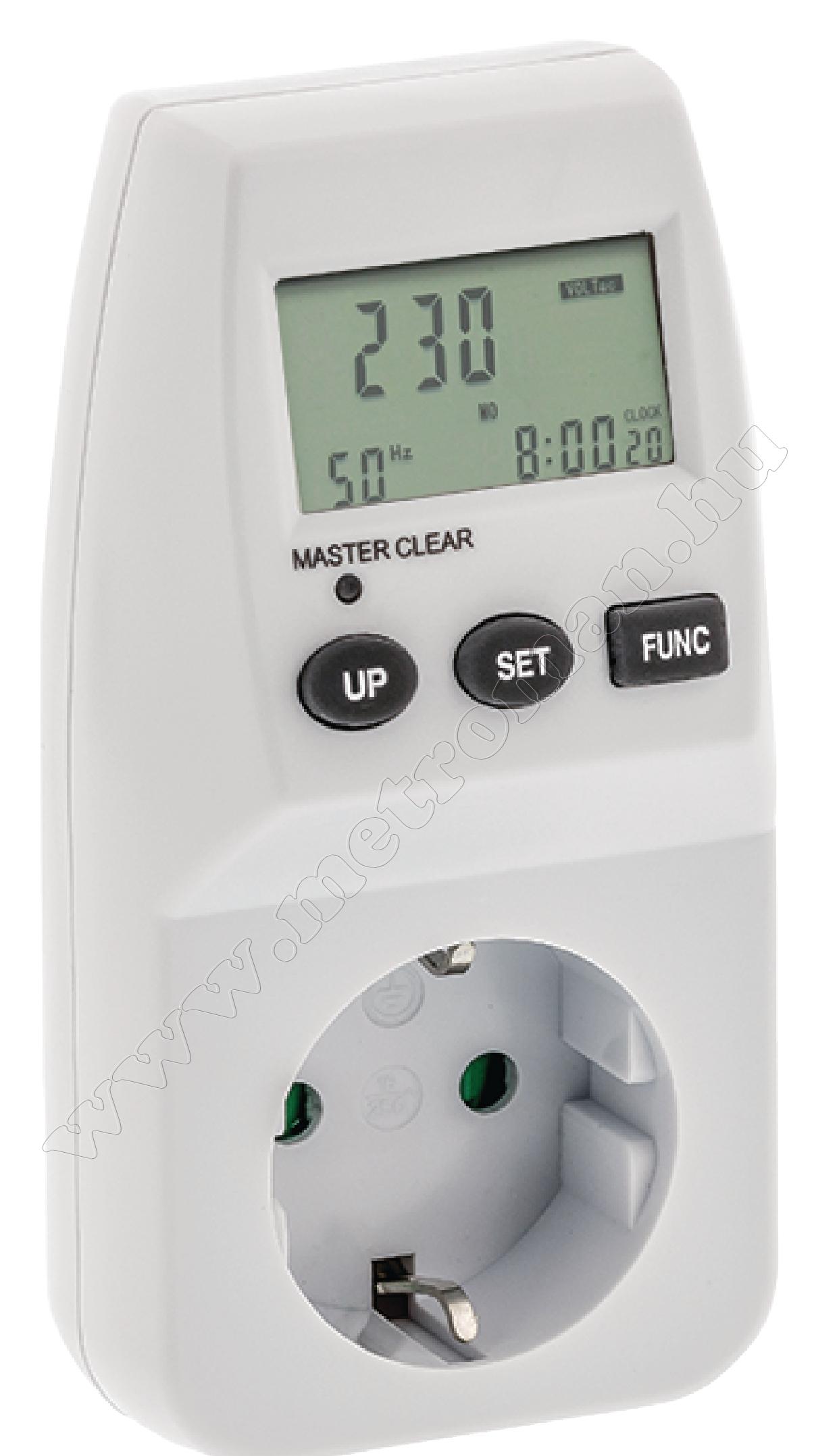 Fogyasztásmérő VLMETER01