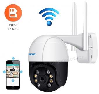 Vezeték nélküli Android iOS Wifi SD kártyás megfigyelőkamera MQF518-5MP