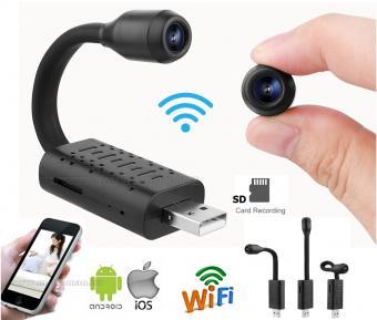 Vezeték nélküli Android iOS Wifi SD kártyás mini megfigyelőkamera MM2668-WIFI-SPY