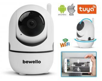 Vezeték nélküli Wifi IP Android iPhone forgatható SD DVR megfigyelő kamera Bewello BW2030-FHD-WIFI