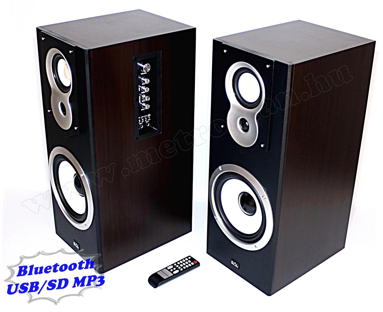 Vezeték nélküli Bluetooth USB/SD MP3 Aktív hangfal SAL 20BT