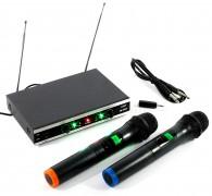 Vezeték nélküli mikrofon, 2 db kézi mikrofonnal Mlogic MMC02