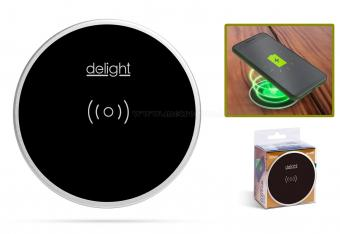 Beépíthető Vezeték nélküli telefontöltő állomás Delight 55163BK