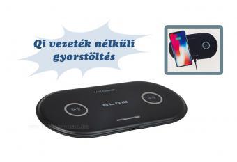 Vezeték nélküli telefontöltő dupla M76066