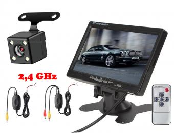 """Vezeték nélküli tolatókamera szett 7""""-os LCD monitorral MM-307NEW"""