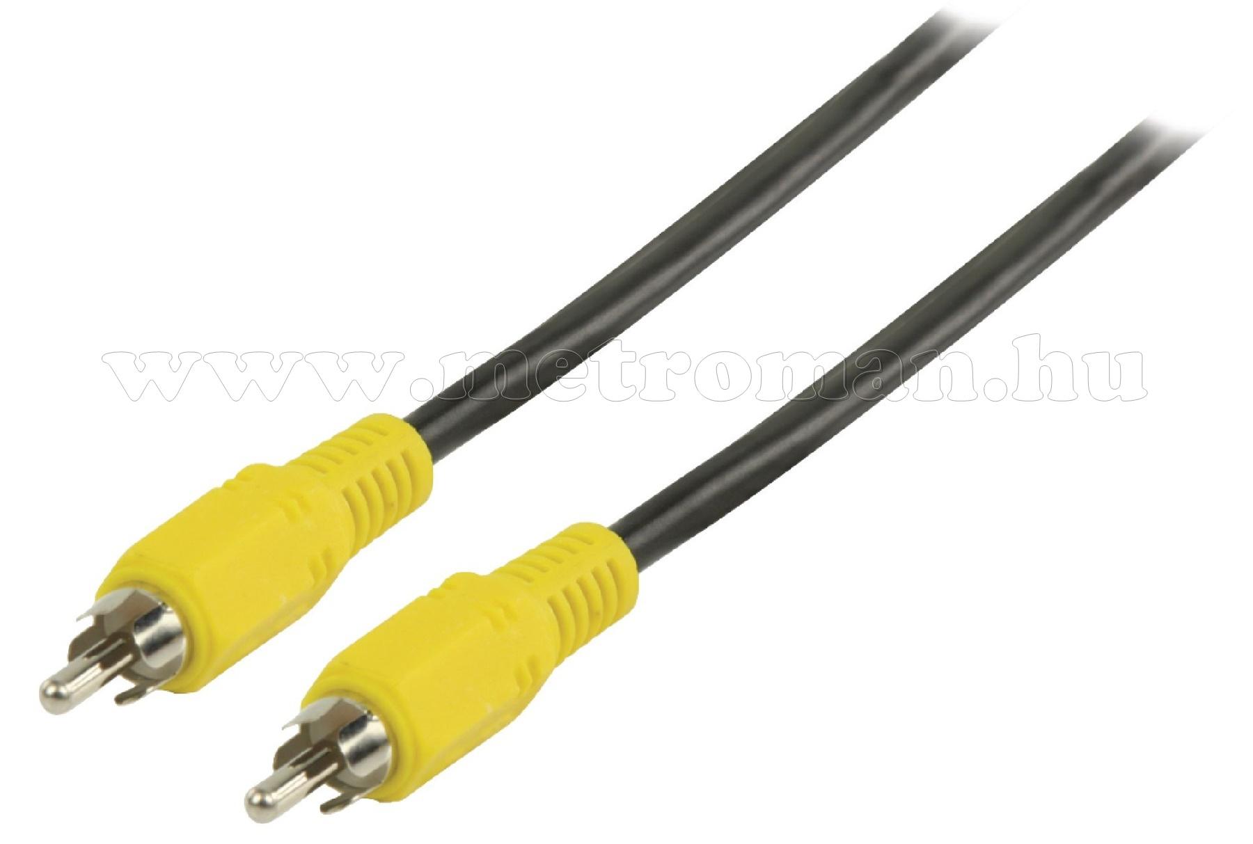 Videó kábel RCA-RCA 5 méter VLVP24100B50