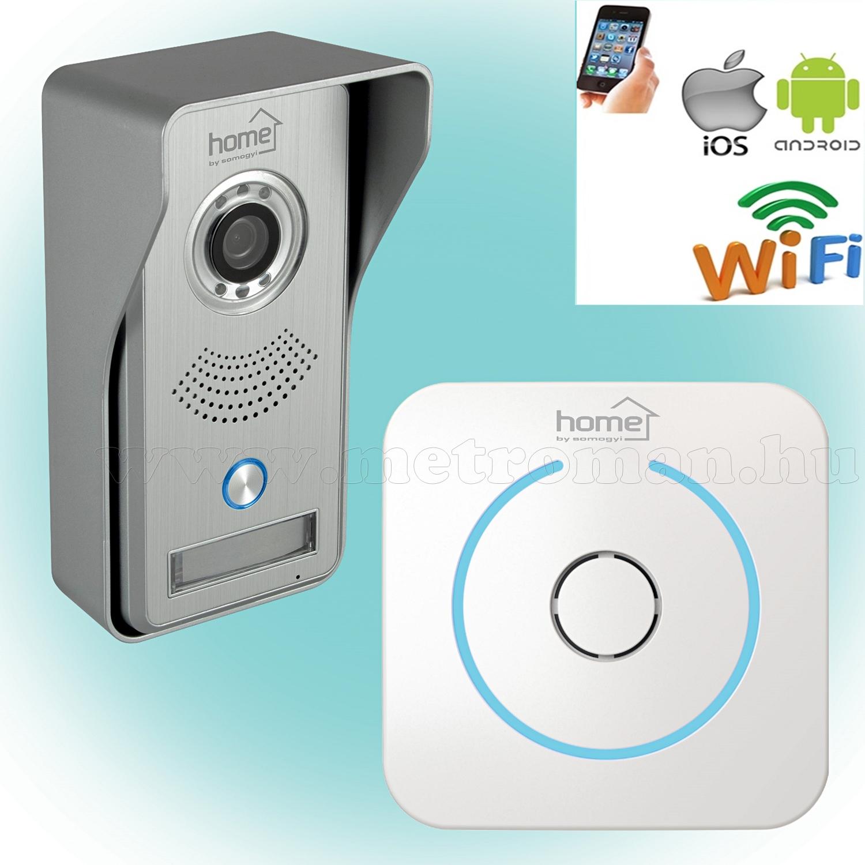 Wifi IP Android, iOS Okos vezeték nélküli Video kaputelefon DPV WIFI SMART