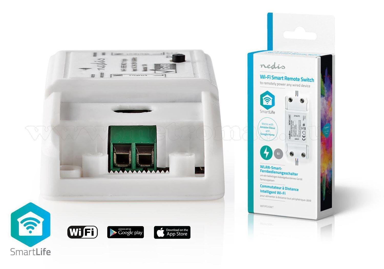 Wi-Fi-s intelligens kapcsoló áramköri megszakító WIFIPS10WT