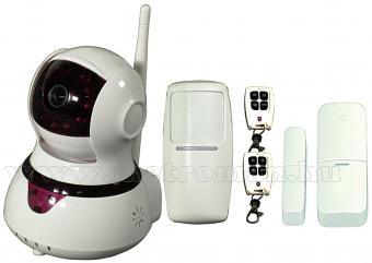 Vezeték nélküli HD Wifi IP kamera és okos riasztó szett WIPC1A
