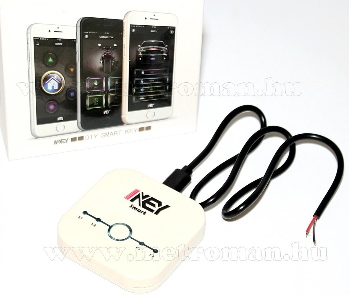 Android iPhone Okos telefonos  központi zár  távirányító modul Smart I-Key1 BT