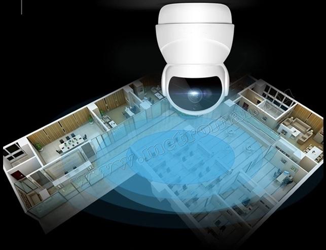 Vezeték nélküli Wifi IP, Android iPhone forgatható SD DVR megfigyelő kamera MM8774 FHD