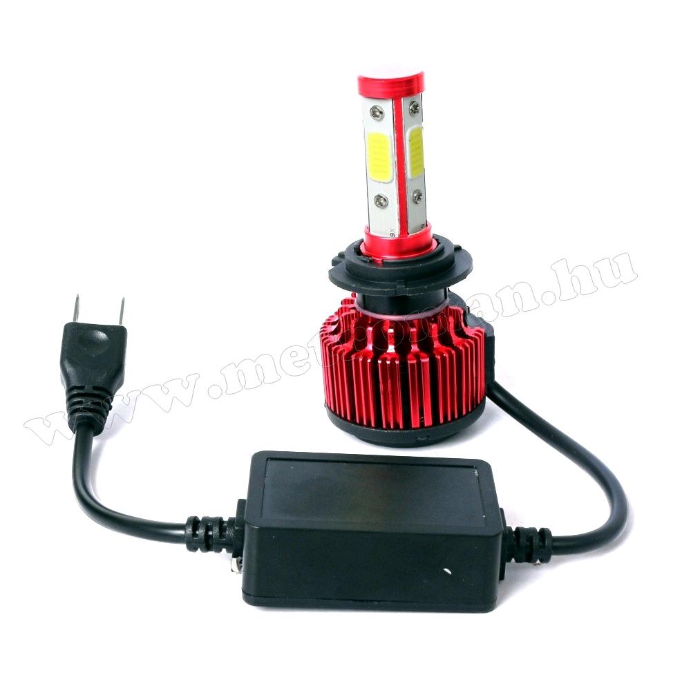Autós H7 LED fényszóró izzó szett 36 W MM-6733R