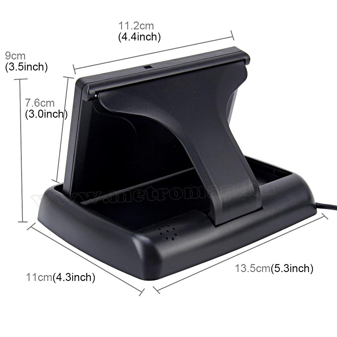"""Autós felnyíló 4,3 """" LCD monitor tolatókamerához MR-43"""