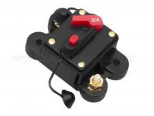 Autós automata biztosíték 12-48 Volt 80 Amper