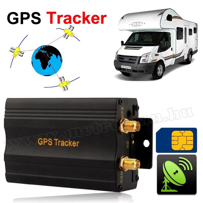 GSM / GPS nyomkövető és riasztó GPS-103A