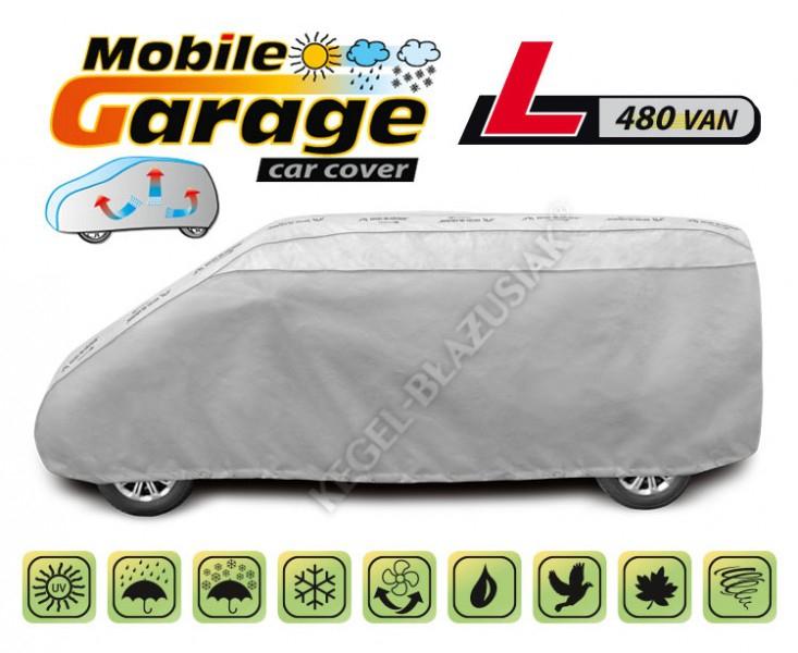 Autó takaró ponyva, Mobil garázs Kegel VAN L480