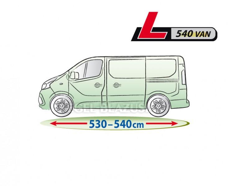 Autó takaró ponyva, Mobil garázs Kegel VAN L540