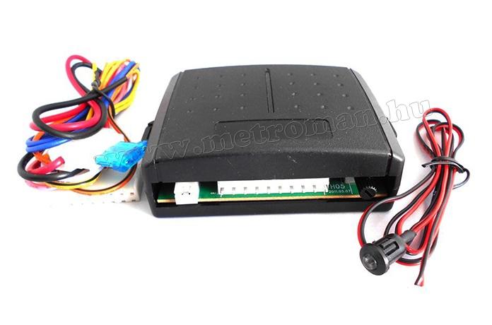 Világítás késleltető hazakísérő elektronika MMH05
