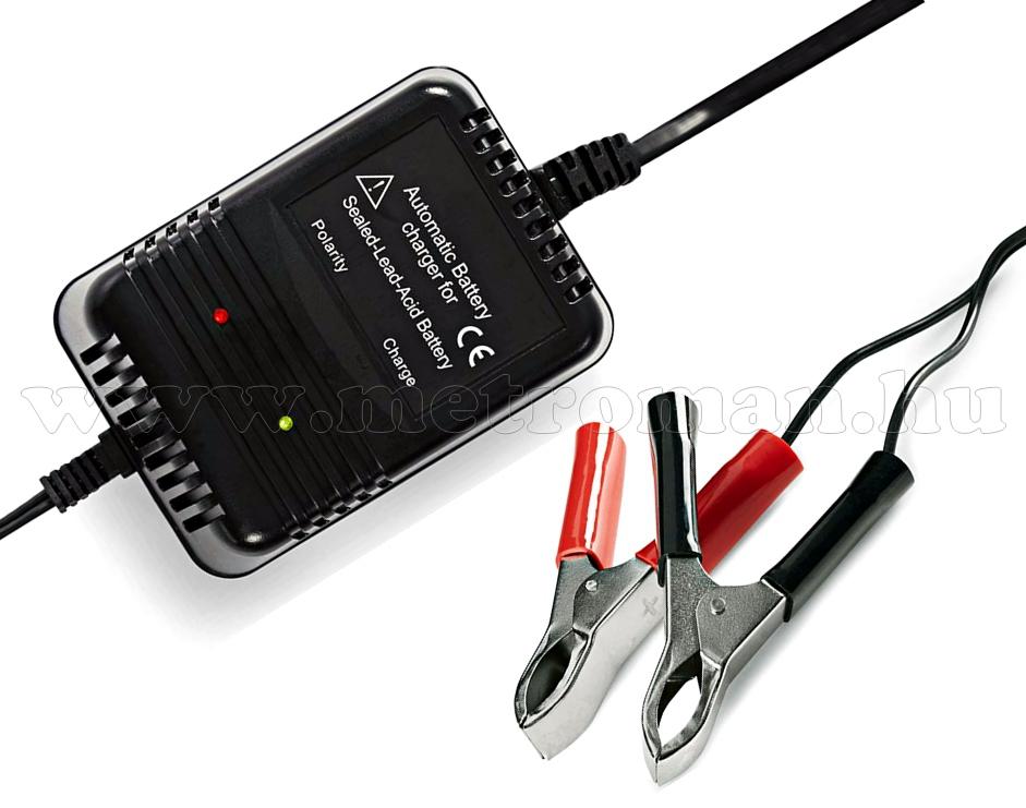 Akkutöltő, Automata akkumulátor töltő CCH02