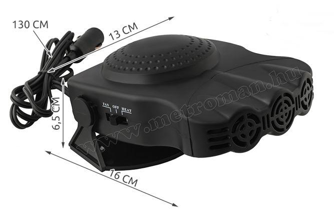 Autós szélvédő hősugárzó 12V 150W MG166B